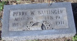 Perry W. Ballinger