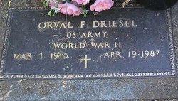 Orval Fredrick Driesel