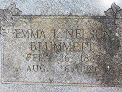 Emma L <i>Nelson</i> Brummett