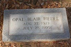 Opal <i>Blair</i> Riedel