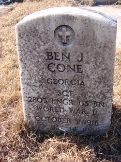 Ben J Cone