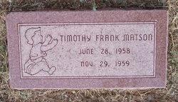 Timothy Frank Matson