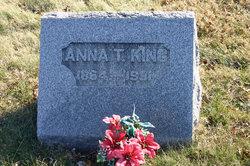 Anna T King