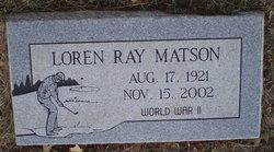Loren Ray Matson