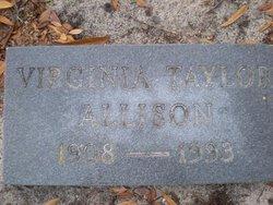 Virginia <i>Taylor</i> Allison