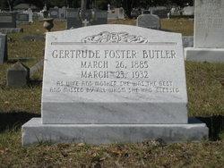 Gertrude <i>Foster</i> Butler