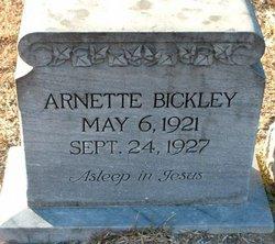Arnette Bickley