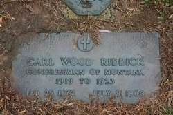 Carl Wood Riddick