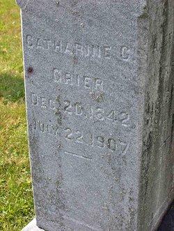 Catherine G Kate <i>Gann</i> Grier