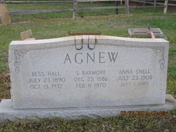 Anna <i>Snell</i> Agnew