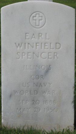 CDR Earl Winfield Win Spencer