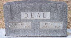 Carroll D Deal