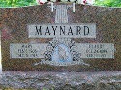 Mary <i>Browning</i> Maynard
