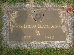 Mary Louise <i>Black</i> Adams