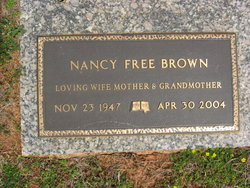Nancy <i>Free</i> Brown