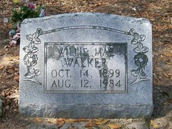 Willie Mae <i>Wimberly</i> Walker