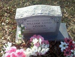 William Loyd Bill Adams