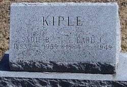 Sadie B <i>Bradford</i> Kiple