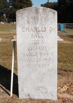Charles D Ball