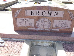 Ann C. <i>Ahrens</i> Brown
