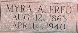 Myra <i>Boyer</i> Alfred