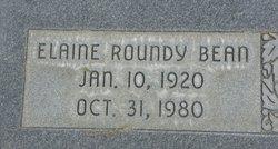 Elaine <i>Roundy</i> Bean