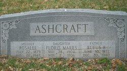 Rosalee <i>Pierson</i> Ashcraft