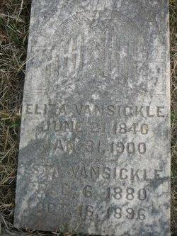 Eliza <i>Warner</i> Vansickle