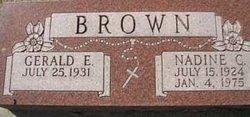 Nadine . C. Brown