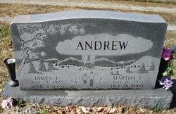 Martha Elizabeth <i>Hatter</i> Andrew