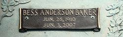 Bess Anderson Baker