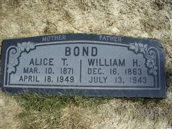 Alice <i>T</i> Bond