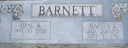 Marvin Edward Barnett