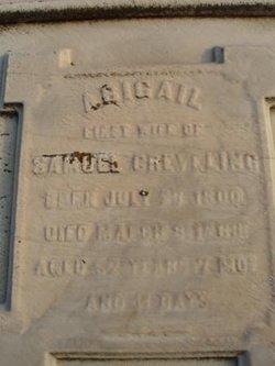 Eidley Abigail Abigail <i>Warne</i> Creveling