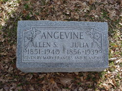 Julia F. <i>Perio</i> Angevine