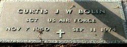 Sgt Curtis J W Bolin