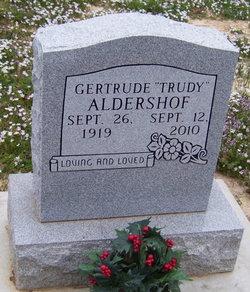 Gertrude Trudy <i>Burbage</i> Aldershof