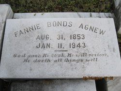 Fannie <i>Bonds</i> Agnew