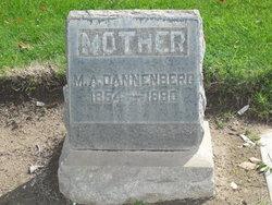 Mary Amanda <i>Barto</i> Dannenberg
