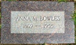 Anna <i>Morgan</i> Bowles