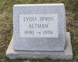 Lydia <i>Irwin</i> Altman
