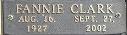 Fannie Marie <i>Clark</i> Patterson