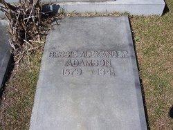 Bessie <i>Alexander</i> Adamson