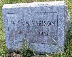 Harry W Yarison