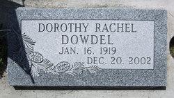 Dorothy Rachel <i>Wright</i> Dowdel