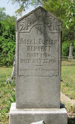 Rosa L <i>Butler</i> Bennett