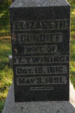 Elizabeth <i>Cundiff</i> Twining
