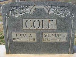 Solmon L Cole