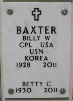 Billy W. Baxter