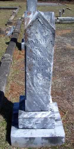 Sarah A. <i>McClellan</i> Barnes